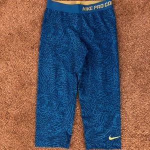Nike Pro Combat Compression Crop Leggings, Small